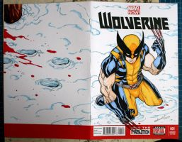 Wolverine sketch cover by mdavidct