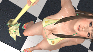Hitomi Pole Stroking 2 by r3vulimotiH