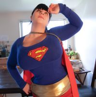 Super Girl + Corset by underbust