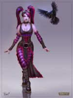 Twisted Metal Morrigan by PTimm