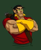 Belf!Gaston by madcarrot