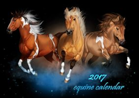 Happy New Year - and an equine calendar by Aomori