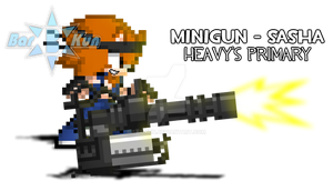 Heavy's Minigun Showcase by Bar-Kun