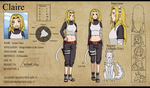Claire Ref Sheet by draizor007