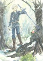 In the Snow Forest L by nomichi