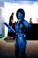 Cortana Cosplay Eb Expo by SpartanJenzii