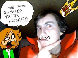 i raped this picture with my tablet by CrossDaBowmn