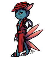 Surprise, It's a Sneasel by Astronblackmoon