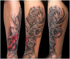 Dynamics Tattoo by Anderstattoo