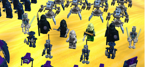 Close Up Of Boarding Party Clone Commanders by mafia279