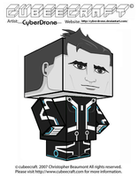 Cubeecraft - Beck 'Tron- Uprising' by CyberDrone