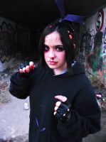 Evil Vanellope Von Schweetz cosplay by Kharen94th