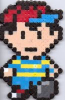 Yet Another Earthbound Ness by Ravenfox-Beadsprites