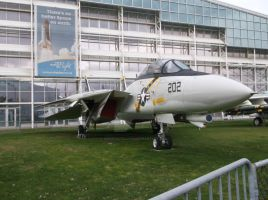Grumman F-14A Tomcat II by TheAngryFishbed