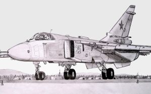 Su-24 Russian airforce by stachu96
