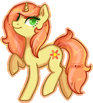 Commission - Peach Primrose by Reporter-Derpy