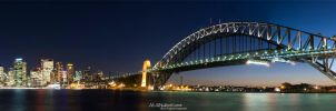 Panorama of Sydney Skyline I by IAMSORRY87