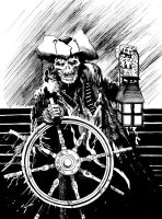Captain Bones by lheneks