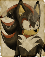 Shadow- Parchment Series by SonicRemix
