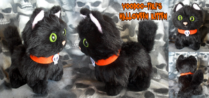 Halloween Kitten by Voodoo-Tiki