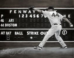 Jake Peavy - Red Sox Commission by secrets-of-the-pen