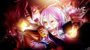 No Game No Life Wallpaper - Sora and Shiro by Redeye27