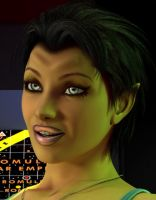 Portrait Preview - Romulan Beauty by willdial