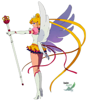 Sailor Moon avec Sceptre Render by anouet