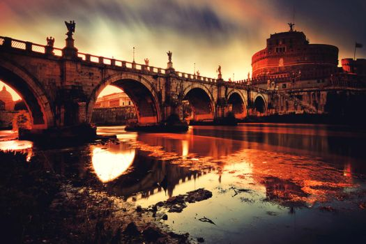 Castel Sant'Angelo by Ssquared-Photography
