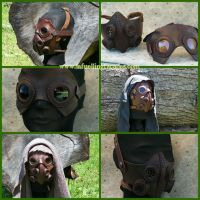 Leather Four Can Mask by LAFuellingFacades