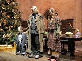 hogwarts Great hall film set tour details costumes by Sceptre63