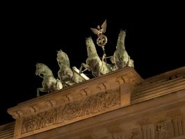 Berlin Brandenburger Tor 2 by norbert911