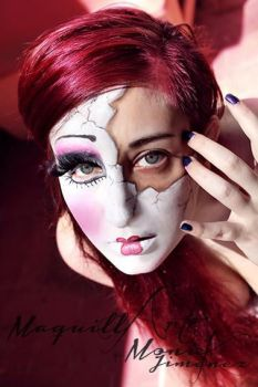 BROKEN DOLL MAKE UP by MONIK85