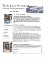Dyman Columbia Boiler Company Boiler Newsletter by alecpatties