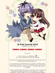 Ib free journal skin! by Maiyunbby