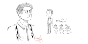 Castiel: Angel of the Sea by Exit-Stage-Crowley