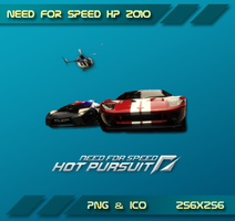 NFS HOT Pursuit 2010 Dock icon by Dohc-WP
