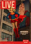 LIVE supergirl magazine by DESPOP