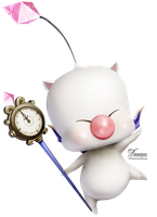 Moogle FFXIII-2 Render.png by demeters