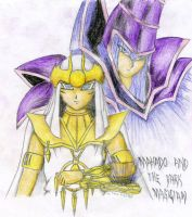Mahado and Dark magician by TeraMaster