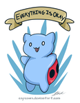 Catbug - Everything is Okay! by caycowa