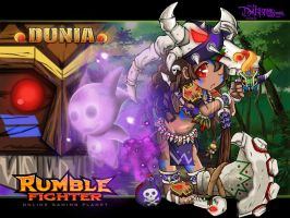 Rumble Fighter :Shaman -Dunia Set by Darkness1999th