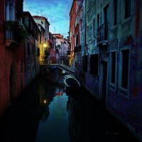 colours of a venecian evening by crh