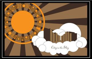 City in the Sky by MamaCannoli