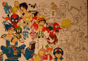 Project infinity - coloring by Fire-Natsu