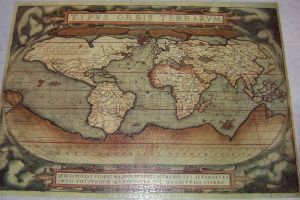 old world map by 5oo5aah