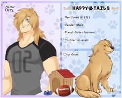 Ozzy - Happy Tails by onitomakirei