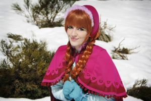 Anna (Winter ver.) [ Frozen ] by kokoammm