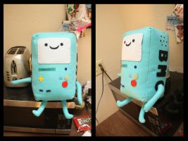 BMO Plush by moonlight-fright