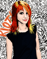 Hayley Williams. by MttKn14